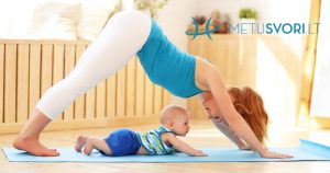 Kaip atsikratyti svorio po gimdymo