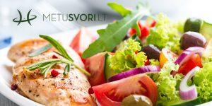 Baltymų ir vitaminų dieta