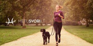 Šuo padės tau mesti svorį!